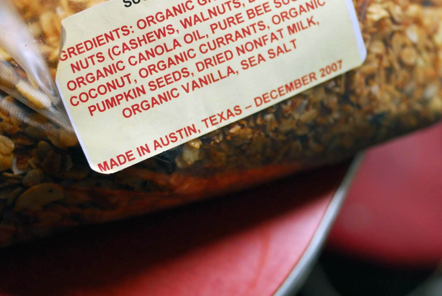 Uncle austin's granola | Homesick Texan