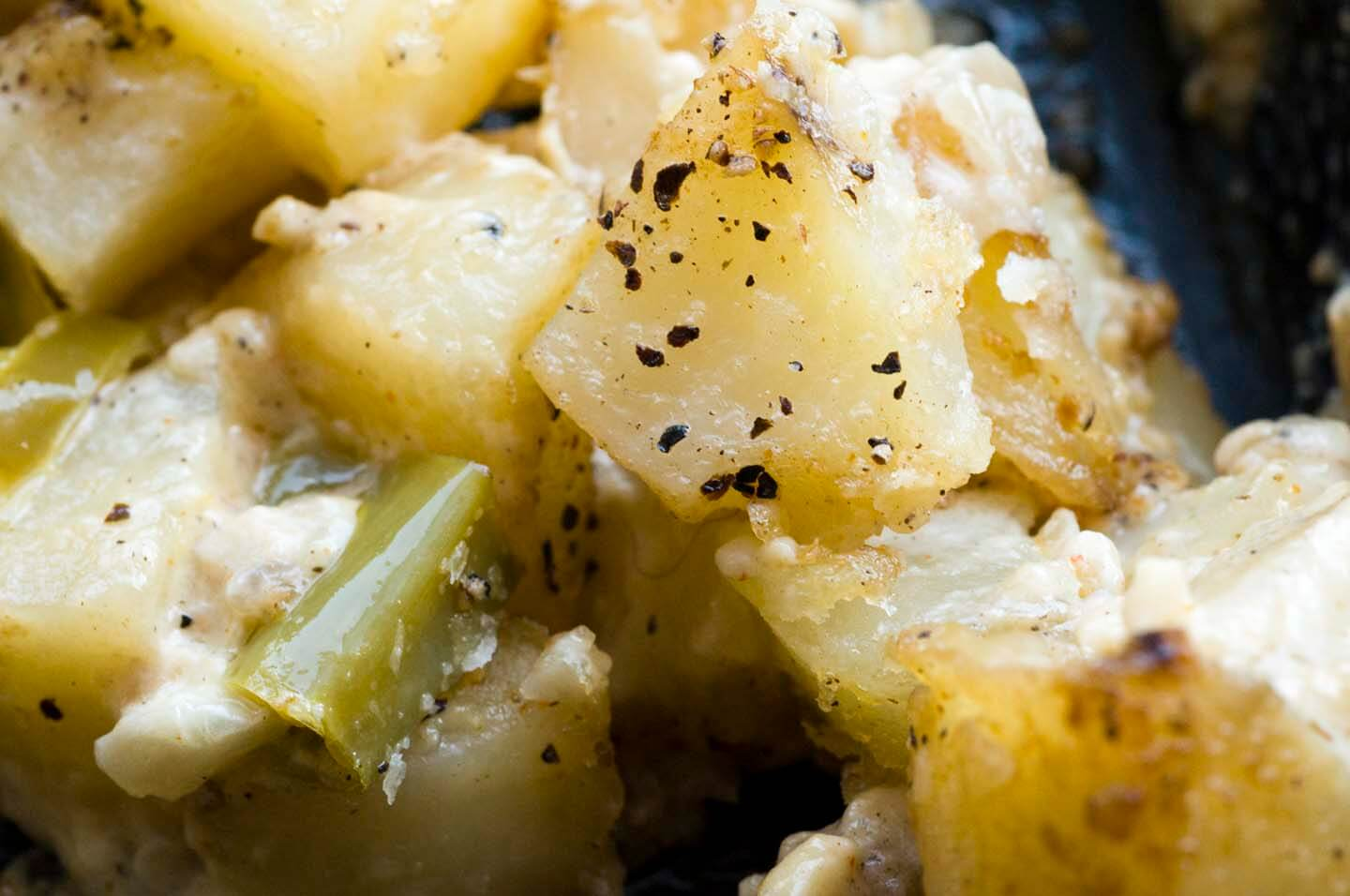Hatch chile potato casserole  | Homesick Texan