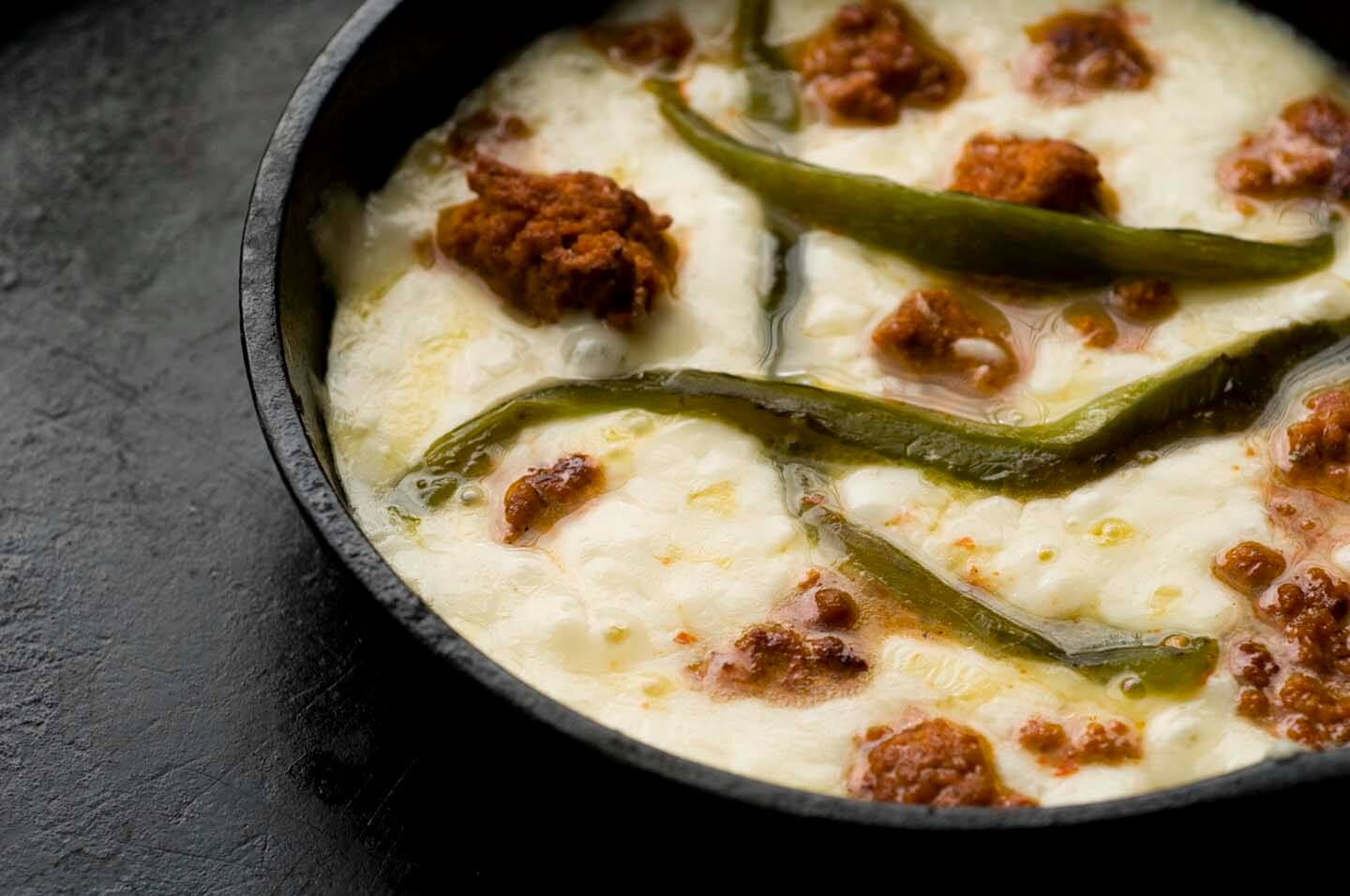 Queso flameado | Homesick Texan