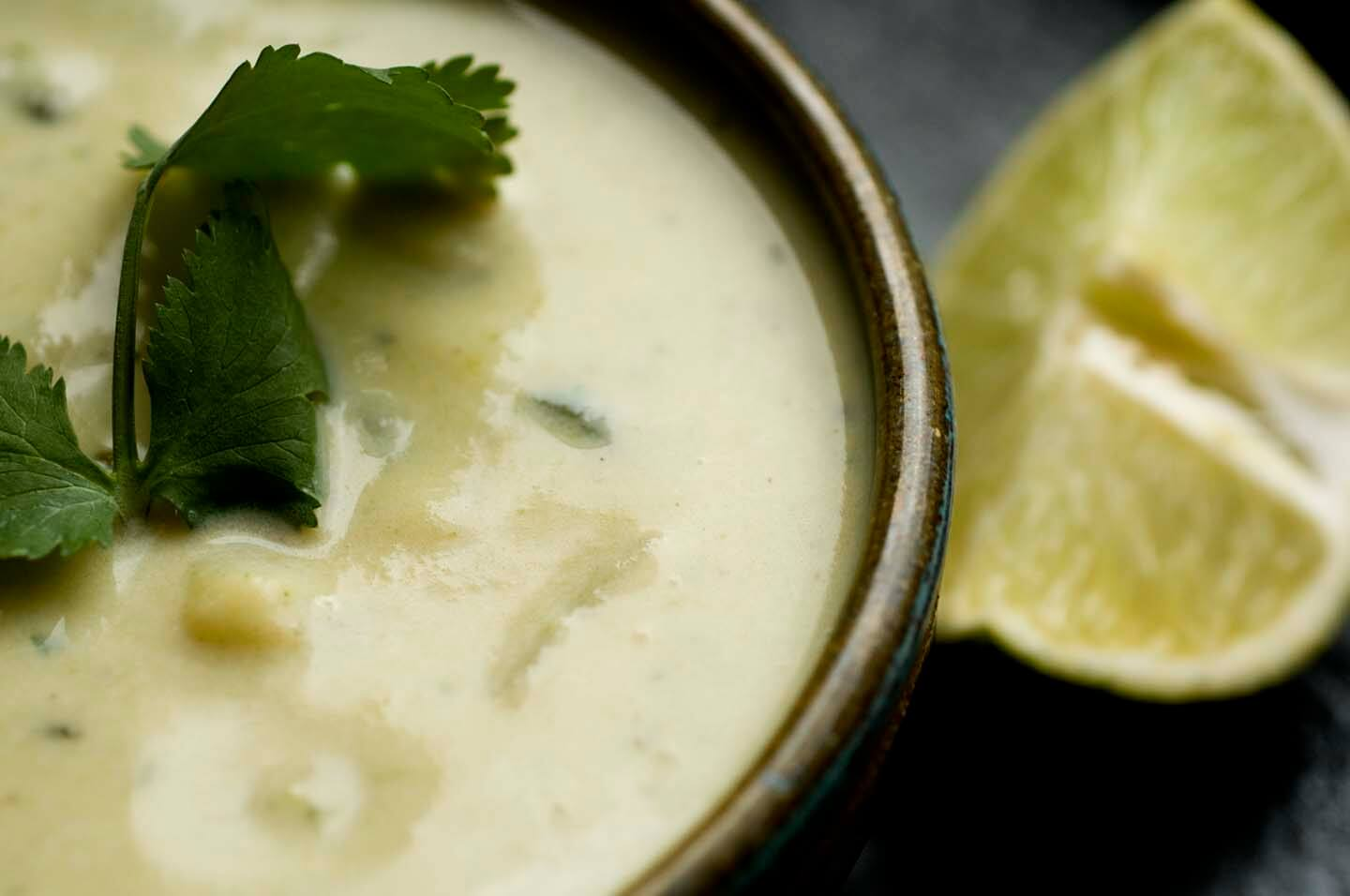 Green chile chowder | Homesick Texan