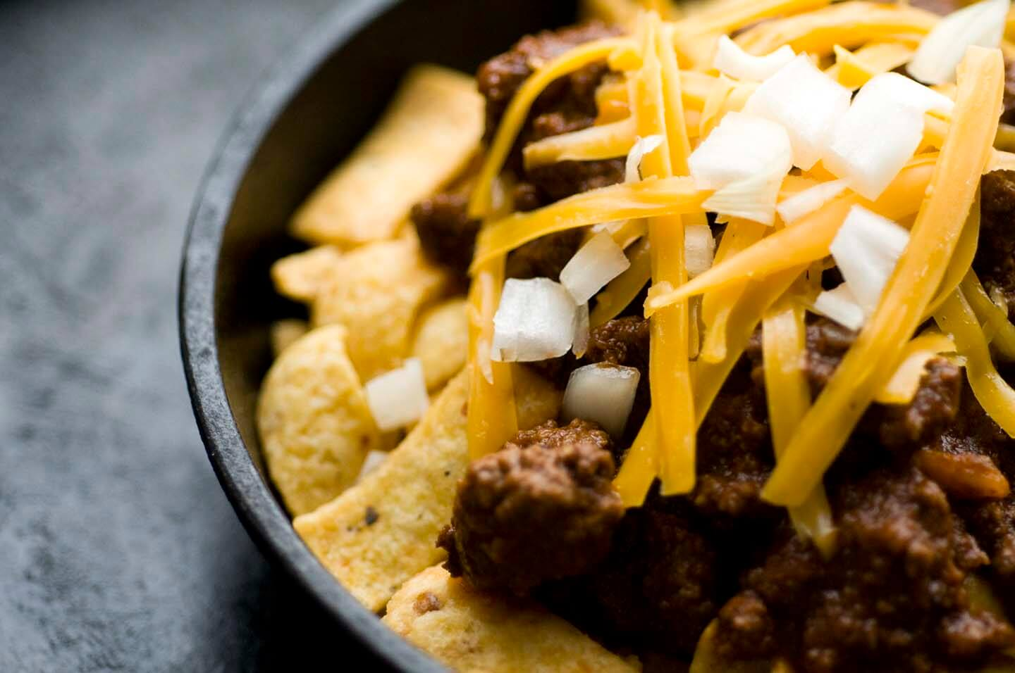Frito pie with one-hour Texas chili | Homesick Texan