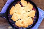 Blueberry peach cornmeal cobbler | Homesick Texan