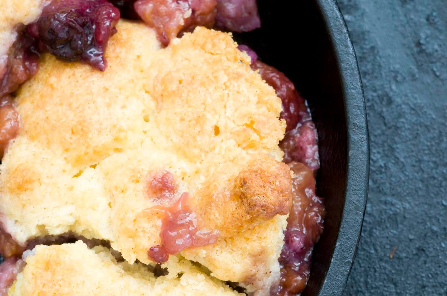 Blueberry peach cobbler | Homesick Texan