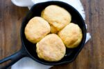 Sweet potato biscuits with chorizo cream gravy | Homesick Texan