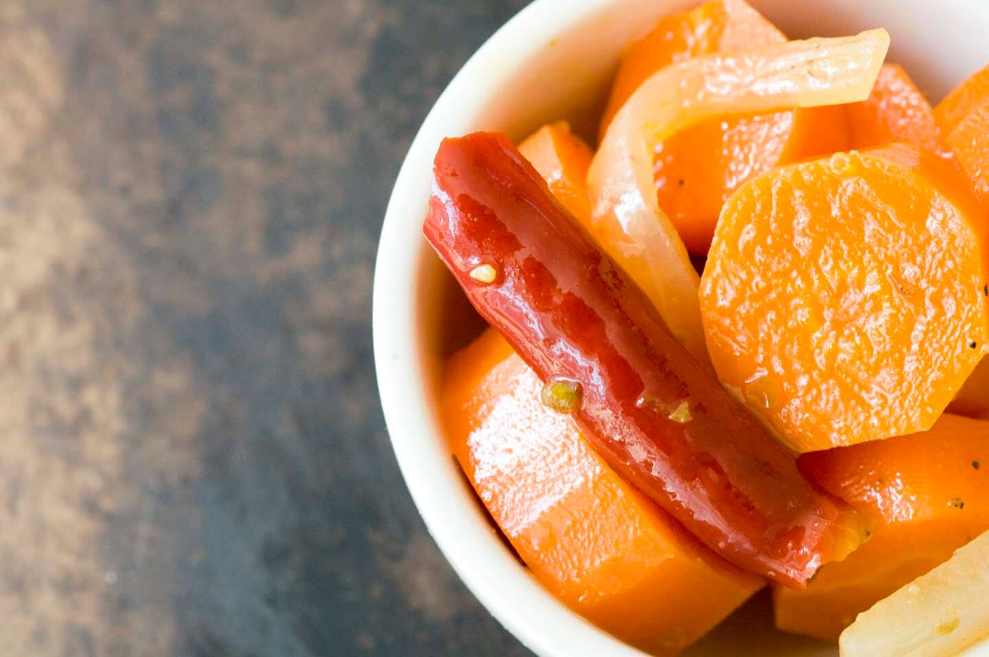 Ninfa's spicy pickled carrots | Homesick Texan