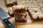 cranberry crumb bars | Homesick Texan