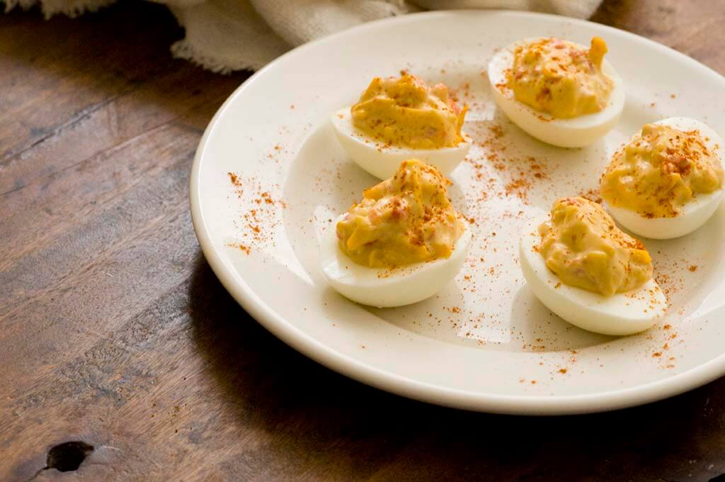 pimento cheese deviled eggs | Homesick Texan