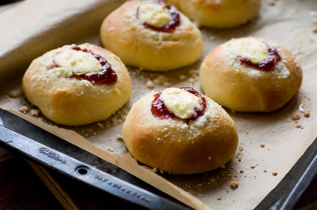 strawberry cream cheese kolaches | Homesick Texan