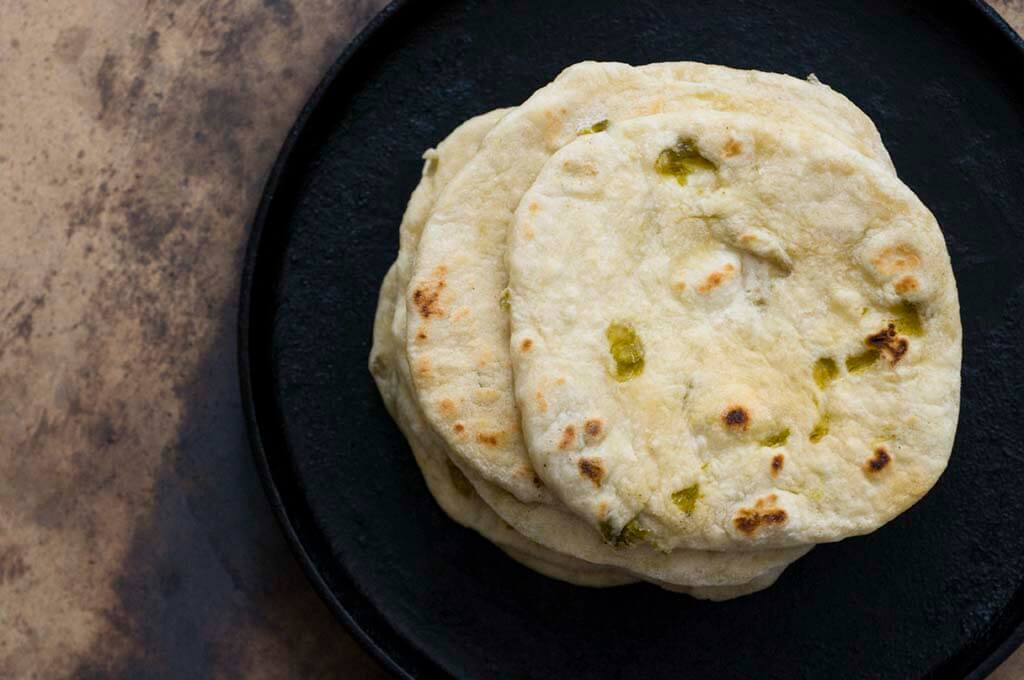 Hatch chile flour tortillas | Homesick Texan