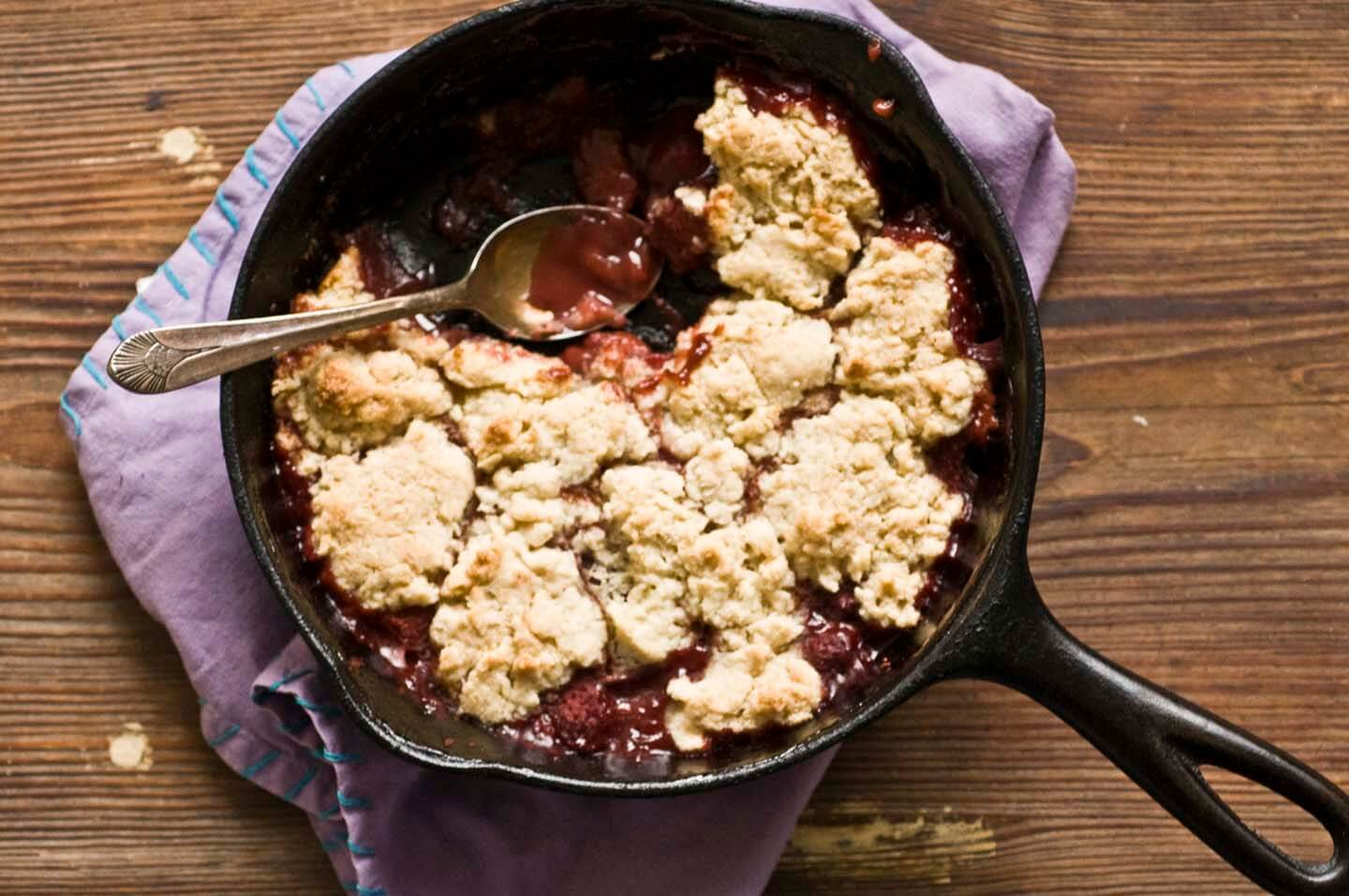 Strawberry cobbler | Homesick Texan