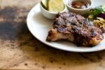 Pork chops with jalapeno peach barbecue sauce | Homesick Texan