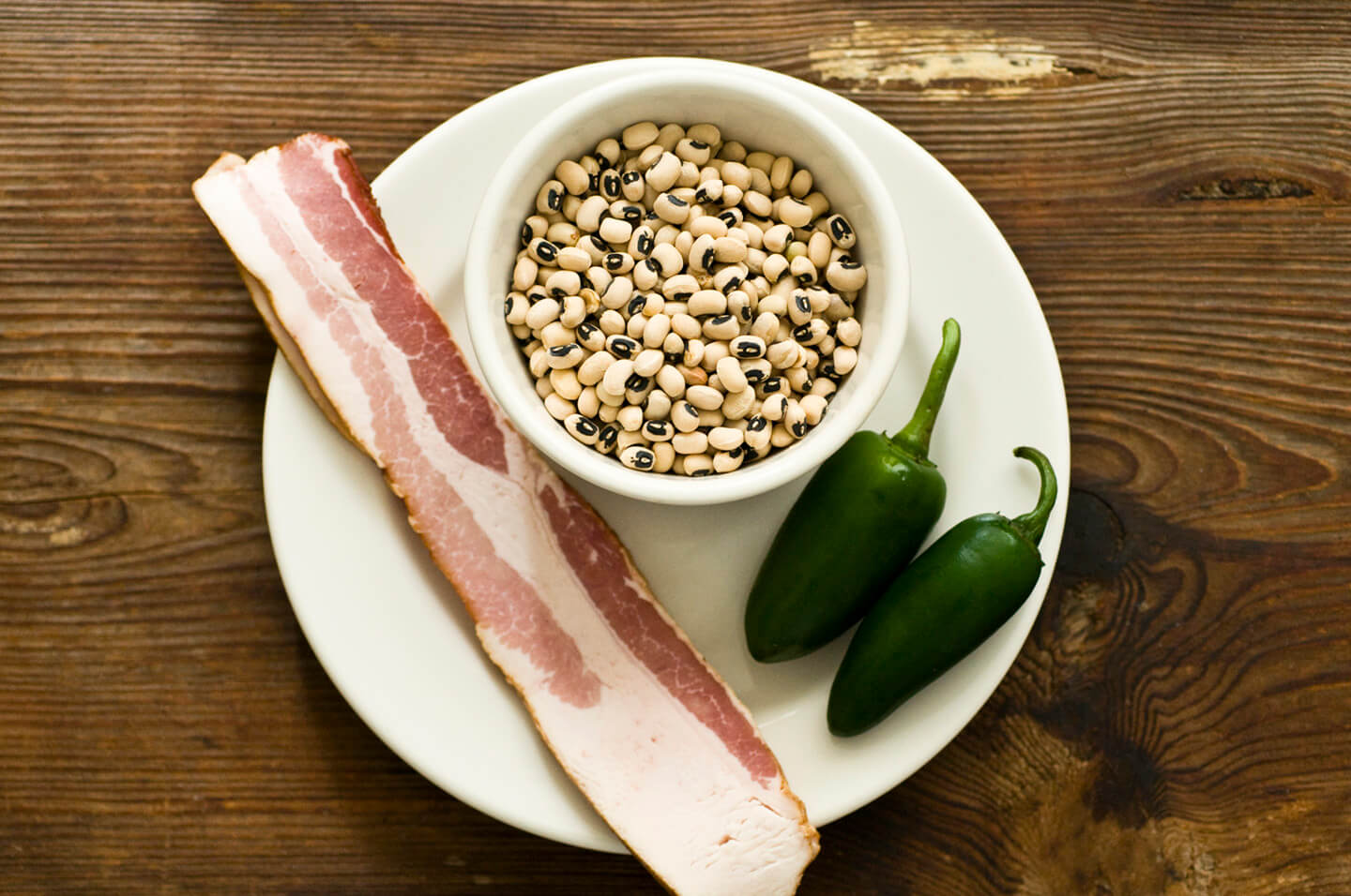 Black-eyed peas wth bacon and jalapeños | Homesick Texan