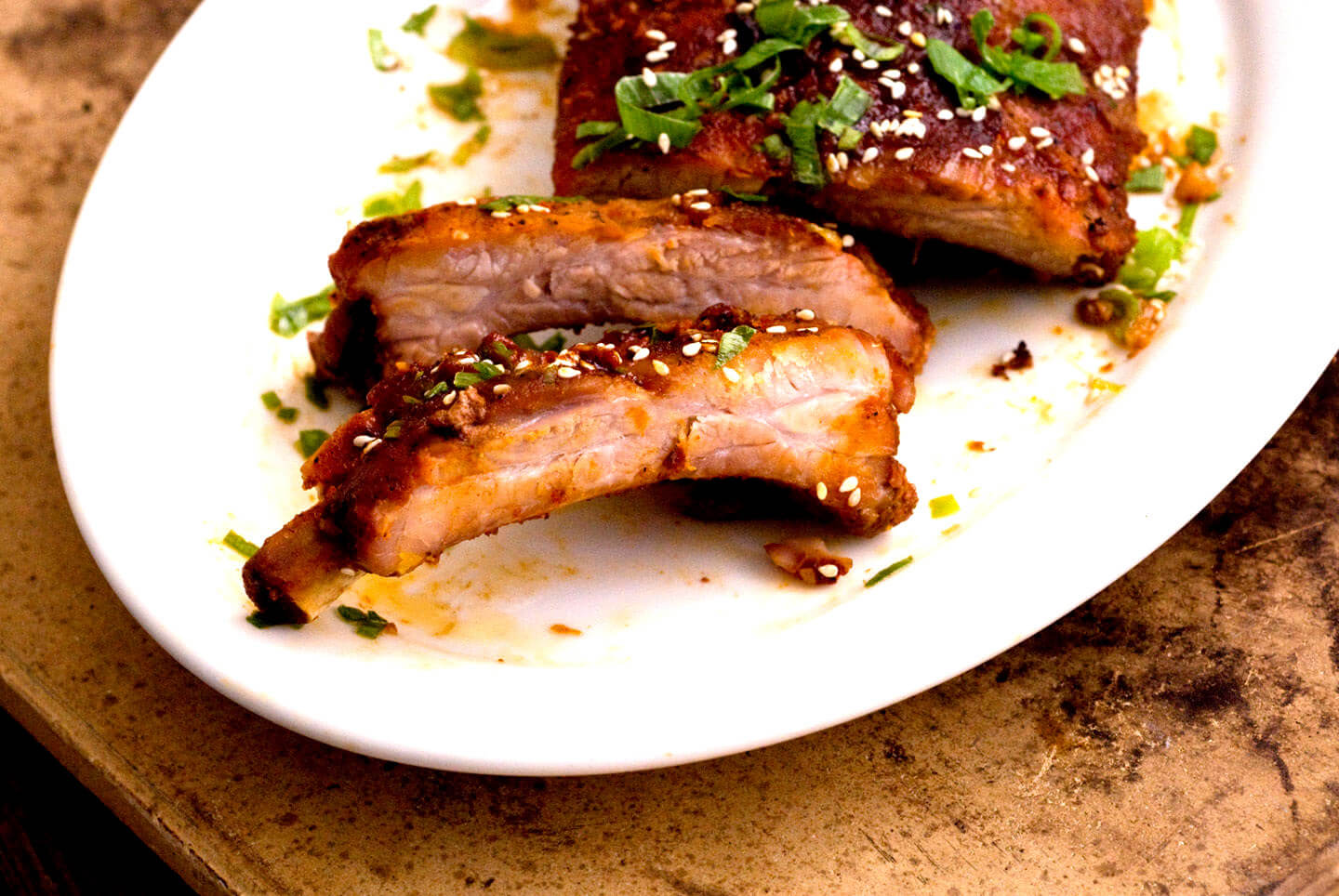 Gochujang-glazed ribs | Homesick Texan