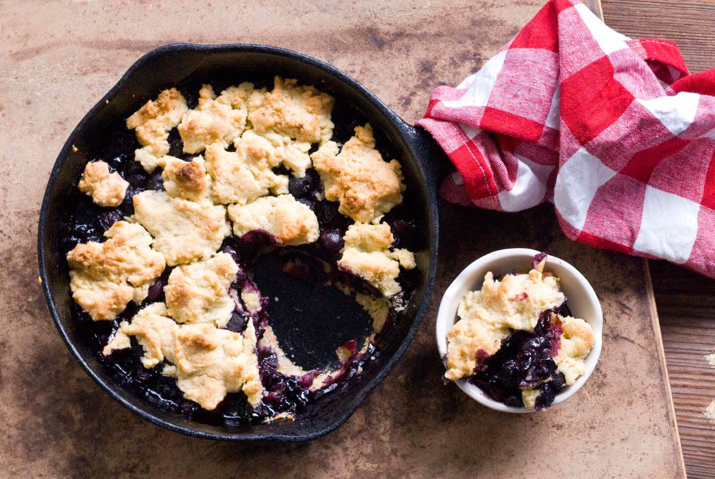 Blueberry lime cornmeal crumble | Homesick Texan