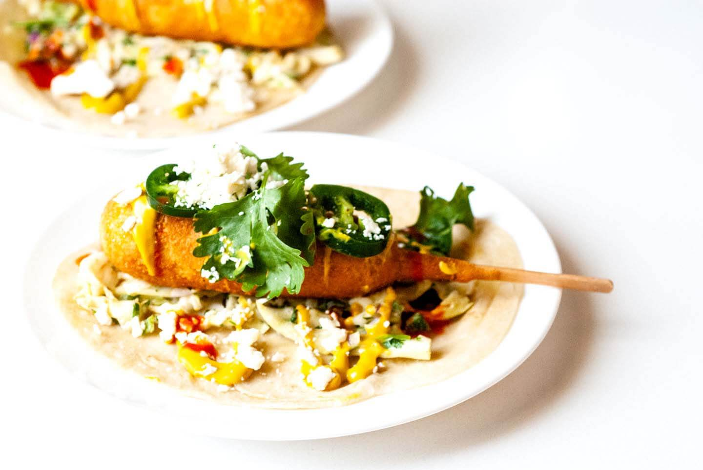 Texas corny dog tacos | Homesick Texan