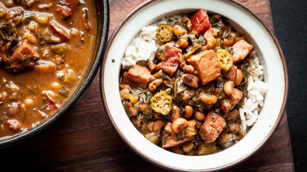 Black-eyed pea gumbo | Homeisick Texan