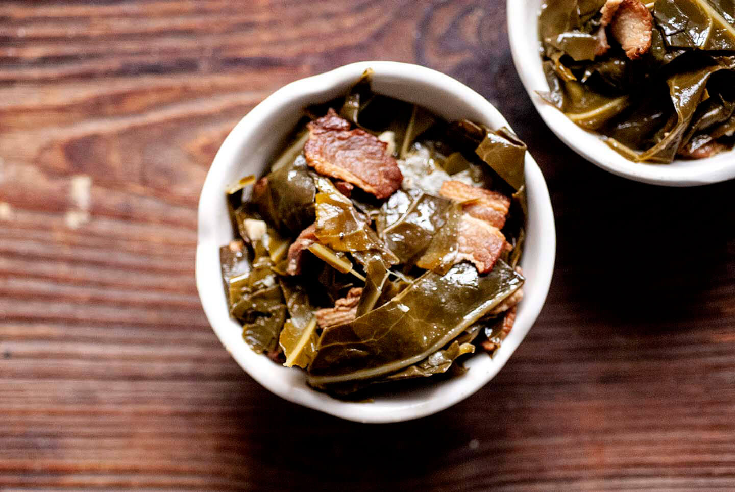 Smoky savory collard greens | Homesick Texan