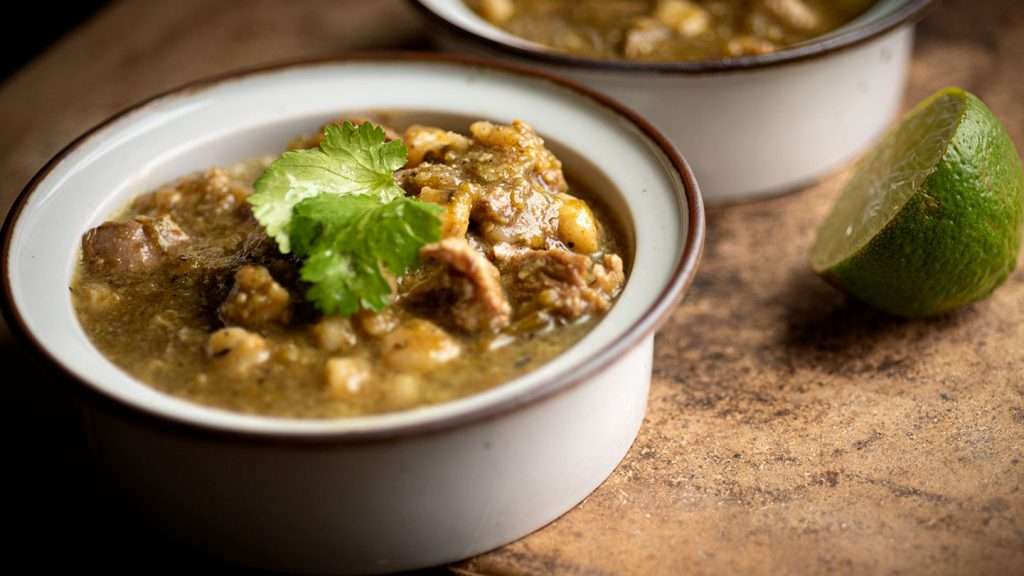 Green chile pork posole | Homesick Texan