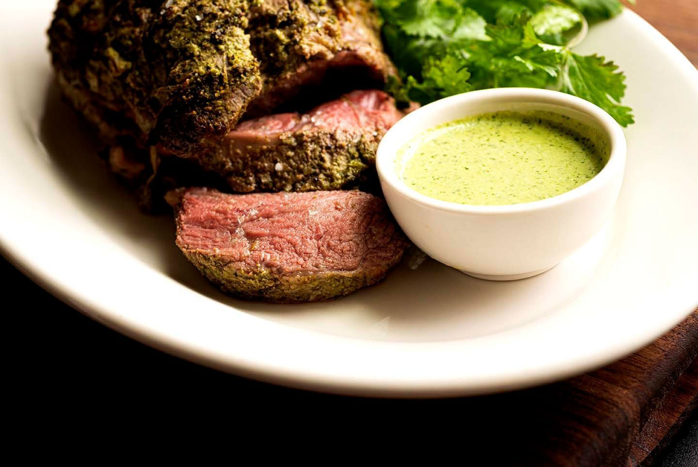 Roast lamb with jalapeno yogurt sauce | Homesick Texan
